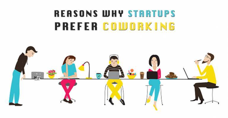 5 reasons why Startups prefer Shared Office Space!